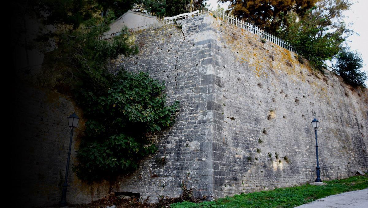 Πρέβεζα: Ανησυχία για τα τείχη του Κάστρου Αγίου Ανδρέα